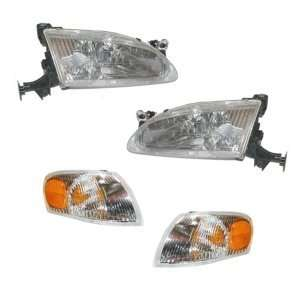 1998 2000 Toyota Corolla Headlight / Corner Light   SET Automotive