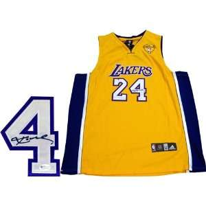 2010 NBA Finals Authentic Los Angeles Lakers Jersey (OAI) Sports