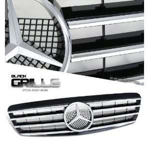 00 02 Mercedes Benz W220 Sport Grill   Chrome Painted CL