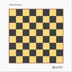 Checkers Needlepoint Canvas Arts, Crafts & Sewing