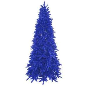 6.5 Pre Lit Navy Ashley Spruce Artificial Christmas Tree