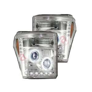 RECON 264272CL   11 12 Ford Super Duty; Projector Headlights; Clear