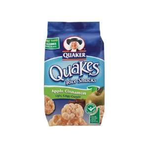 Quaker Mini Rice Cakes Apple Cinnamon 4 Grocery & Gourmet Food