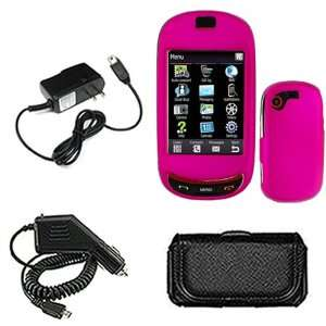 Samsung Gravity T T669 Combo Rubber Feel Hot Pink