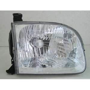 2004 04 TOYOTA TUNDRA HEADLIGHT ASSEMBLY, PASSENGER SIDE