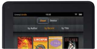 Kindle Fire   Full Color 7 Multi Touch Display with Wi Fi   More than