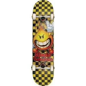 World Industries Flameboy Checker Complete Skateboard   7