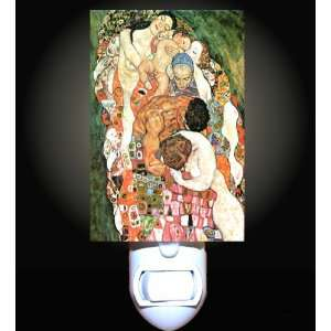 Death and Life by Klimt Decorative Night Light