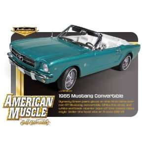 1965 Ford Mustang Convertible Dynasty Green 289 V8 118