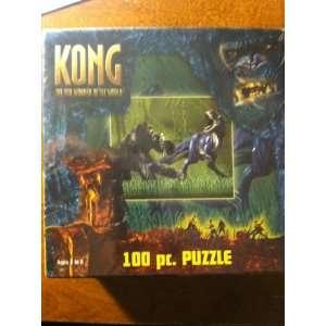 King Kong the 8th Wonder of the World 100 Piece Puzzle