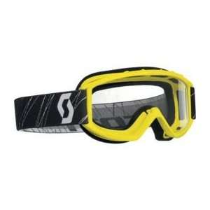 Scott USA 89Si Youth Goggles , Color Yellow 2178000005041